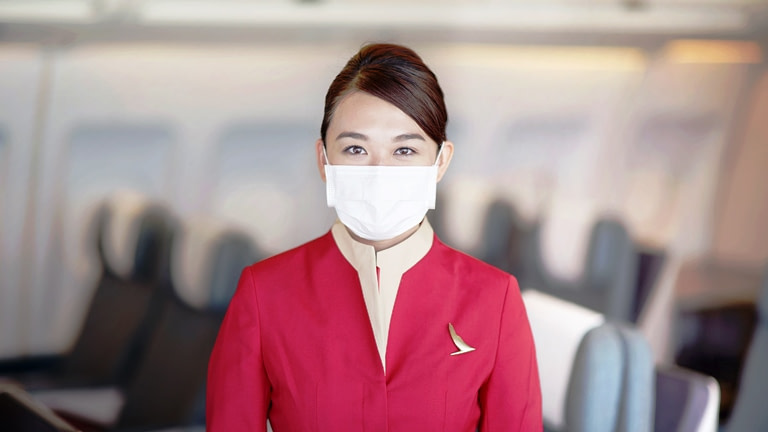 Terbang dengan tenang bersama Cathay Care