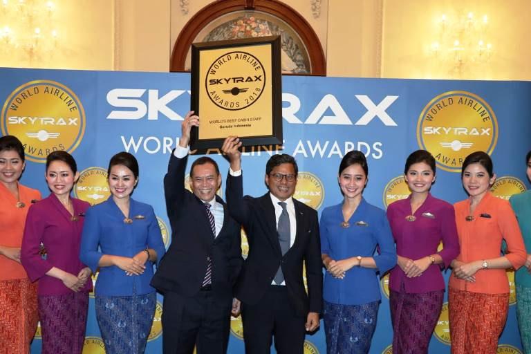 Untuk kelima Kalinya Garuda Indonesia Raih Gelar The World's Best Cabin Crew Skytrax