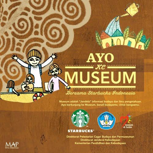 Ayo ke Museum bersama Starbucks Indonesia