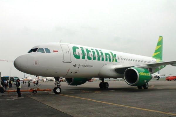 Citilink Kedatangan Pesawat Airbus A320 ke-22nya