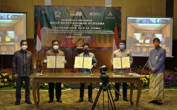 Accor terlibat dalam upaya pemberdayaan UMKM di Jawa Tengah dan Yogyakarta