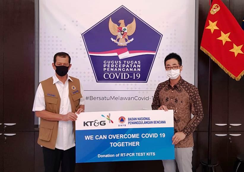 KT&G Sumbang Test kit Corona 19 Kepada Pemerintah Indonesia