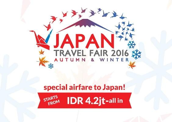 Japan Travel Fair 2016 Promosikan Wisata Musim Gugur Dan Musim Dingin