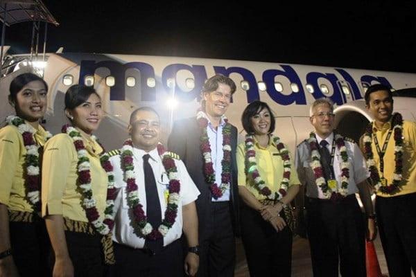 Mandala Airlines Buka Rute Jakarta – Yogyakarta