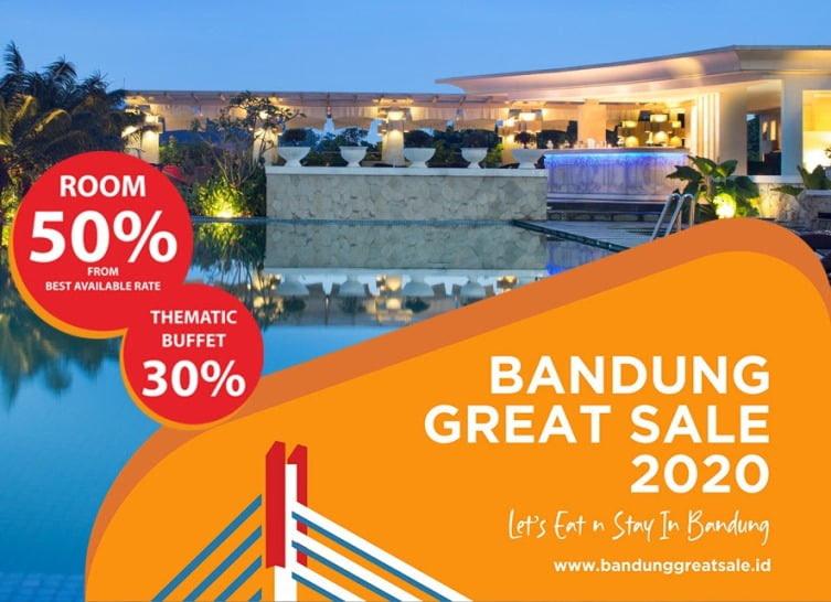 The Papandayan  Berpartisipasi Dalam Bandung Great Sale 2020