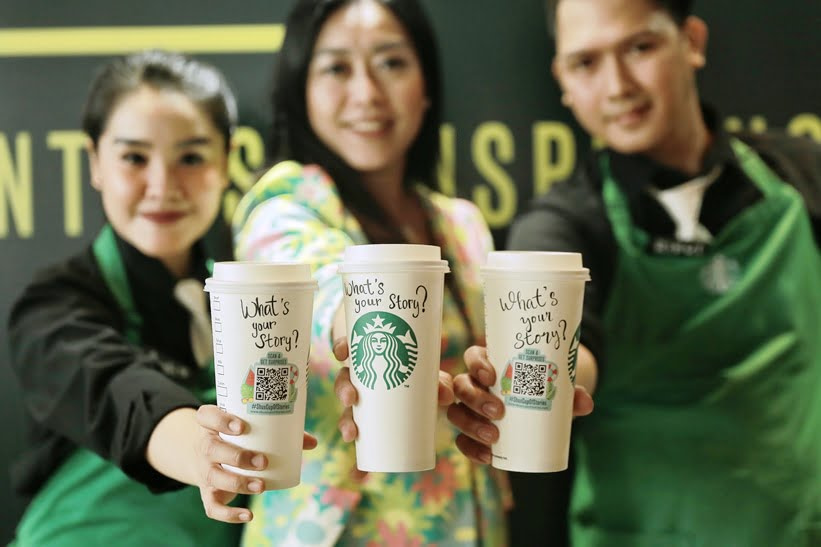 Starbucks Cup of Stories, Jutaan Kisah Tergambar pada Gelas Starbucks